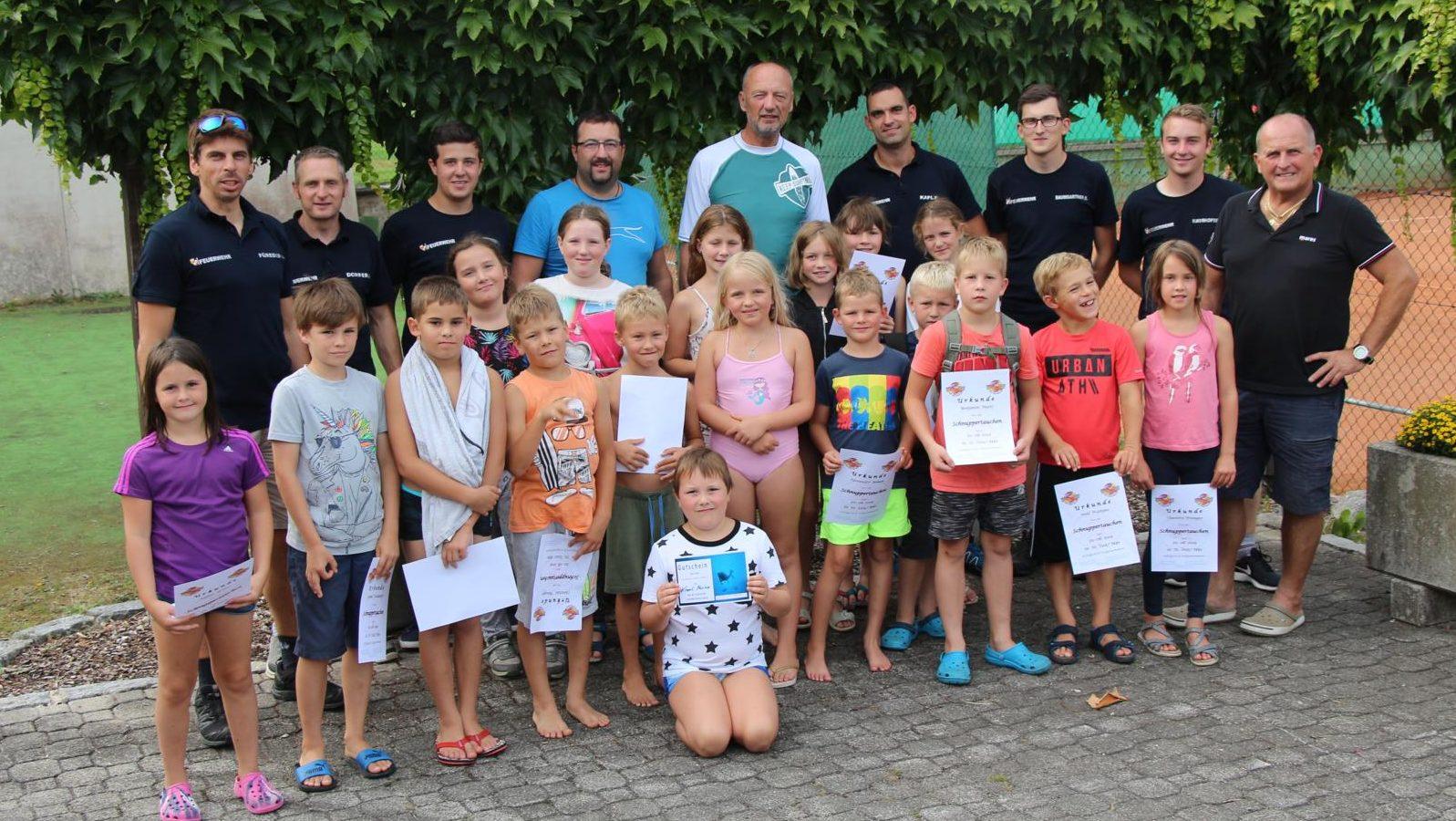 Schnuppertauchen – Ferienprogramm 2019