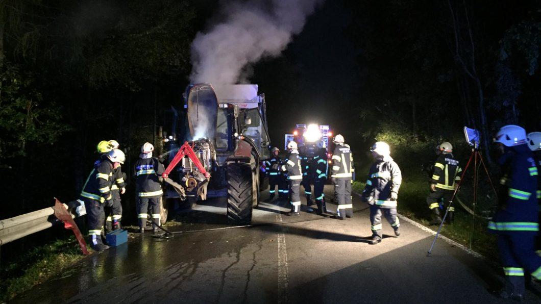 Traktorbrand Schindlberg