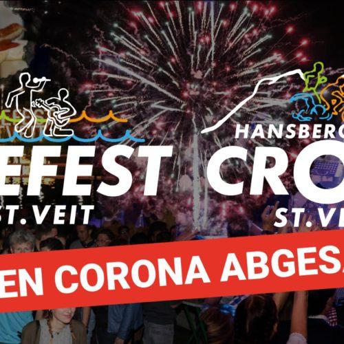 Seefest und Hansbergland-Cross Triathlon wegen Corona abgesagt!
