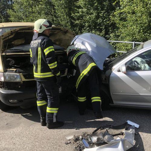 Verkehrsunfall Schwentmühle
