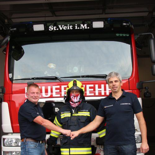 Mund-Nasen-Schutz für unsere Feuerwehrkameraden