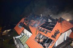 Brandeinsatz 23. Oktober Waxenberg