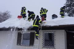 Dach abschaufeln 12.1.19
