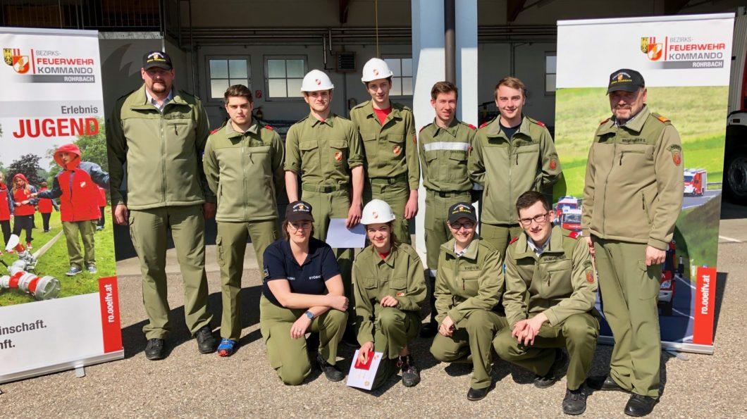 Feuerwehrjugendleistungsabzeichen Gold 2019