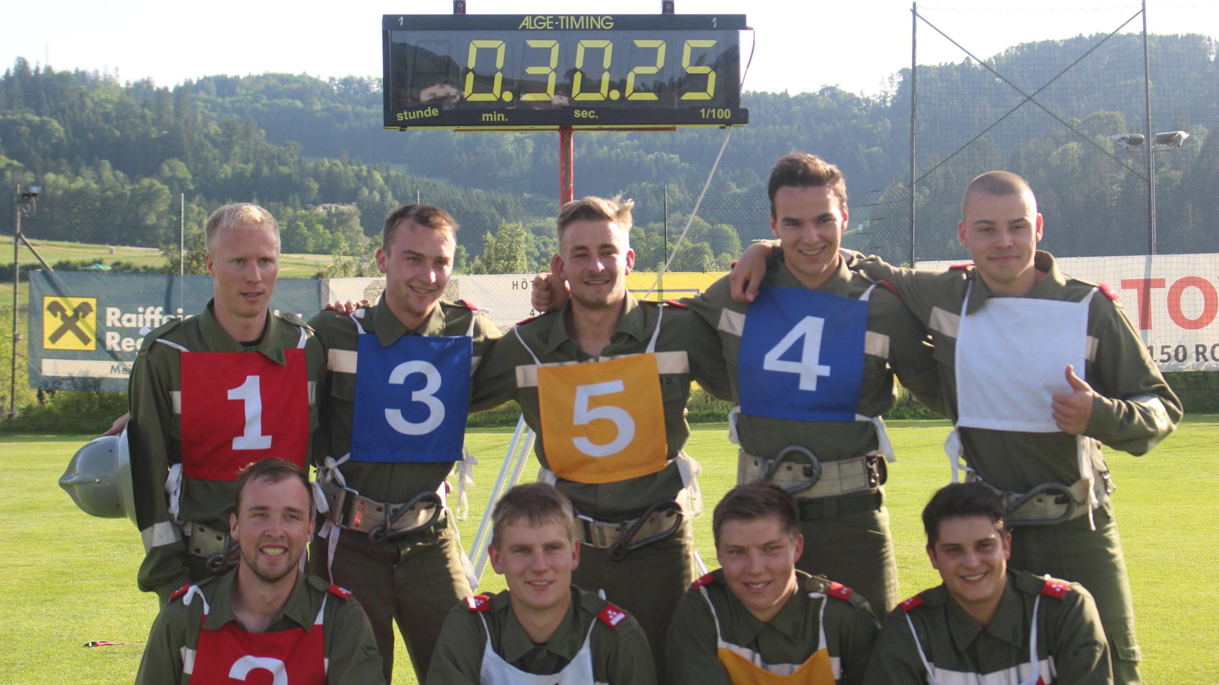 Neue St. Veiter Bewerbs-Rekordzeit von 30,25s!