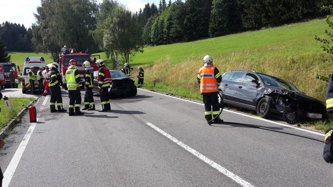 Verkehrsunfall Schindlberg