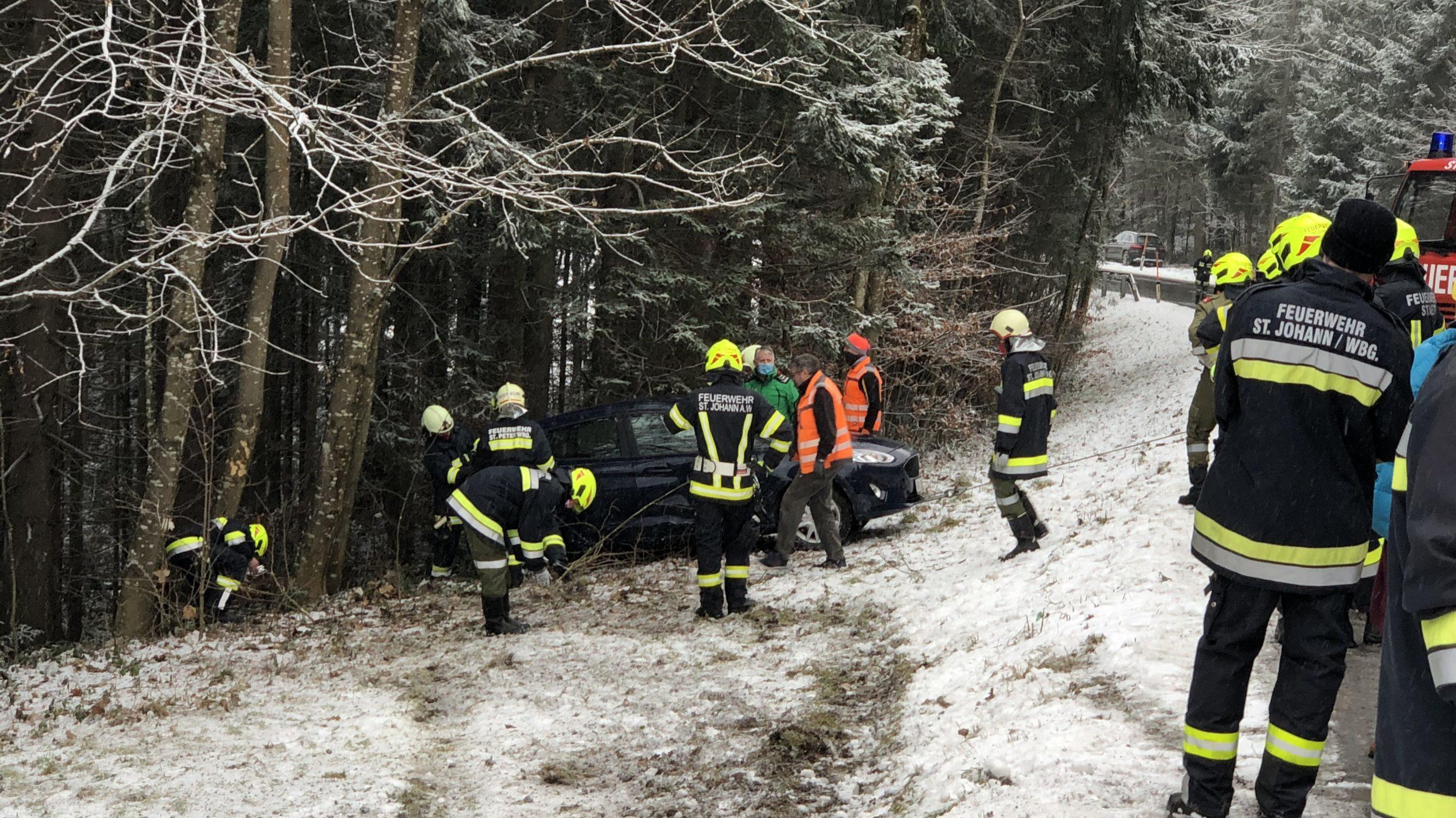 Verkehrsunfall St. Johann am Wimberg