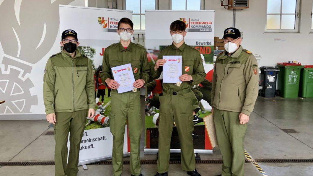 Feuerwehrjugendleistungsabzeichen Gold