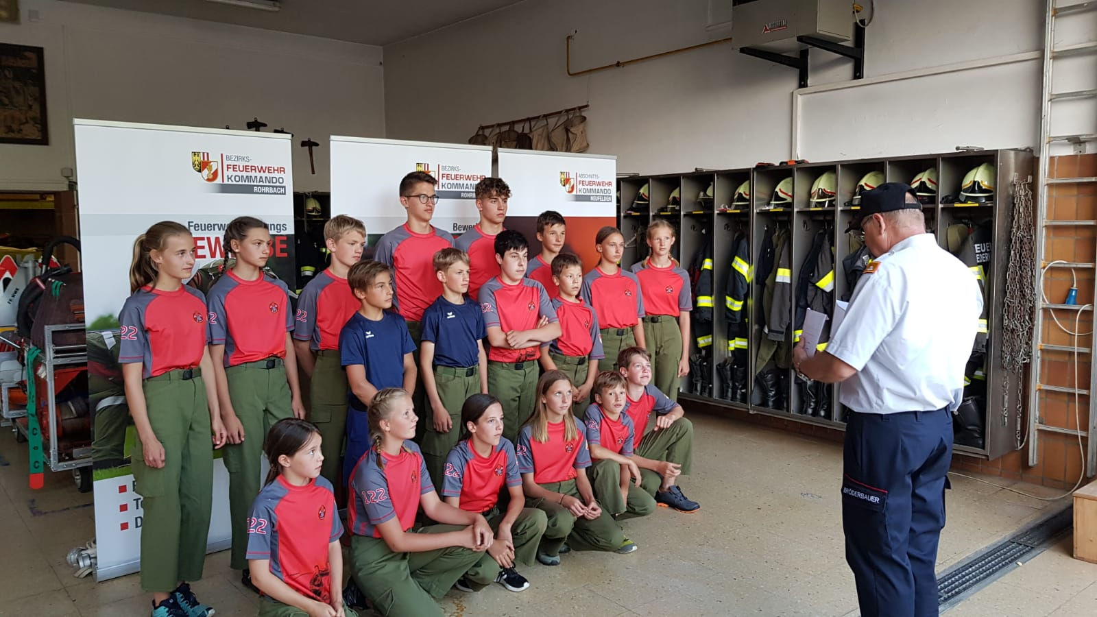 Feuerwehrleistungsbewerb in Niederwaldkirchen
