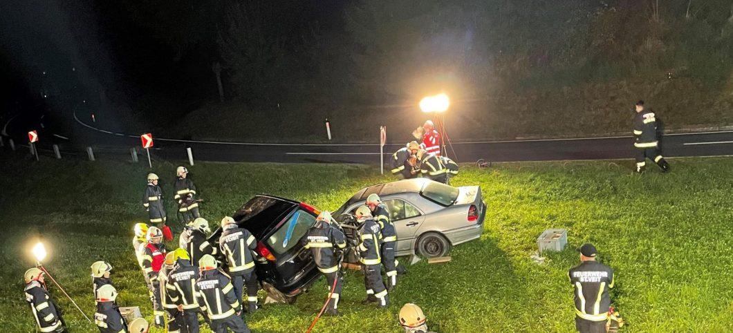 Monatsübung Oktober – Verkehrsunfall mit eingeklemmter Person